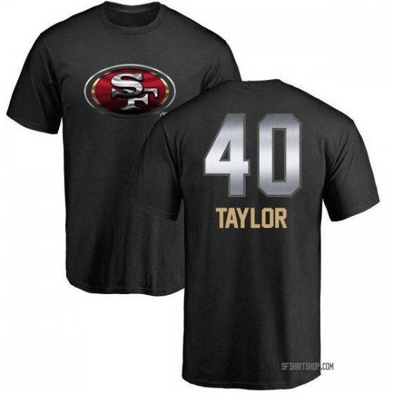 Men's Jamar Taylor San Francisco 49ers Midnight Mascot T-Shirt - Black